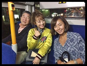 田中律子の路線バス旅の衣装のブランドは?娘はジャニーズで炎上?