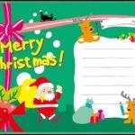 飛び出す手作りクリスマスカードは難しい?型紙や無料テンプレート紹介!
